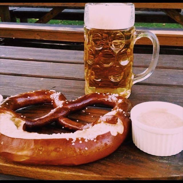 Biergarten Pretzel